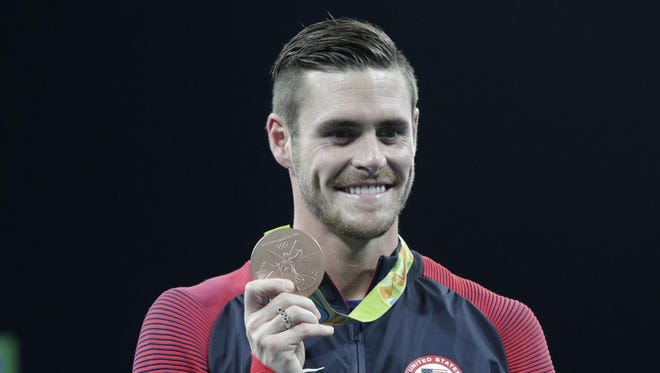 David Boudia is still considering another Olympic bid, but in the meantime he's channeling his competitive nature in the Lafayette real estate market.