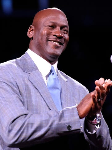 Michael Jordan has taken strides as an owner, he admits.