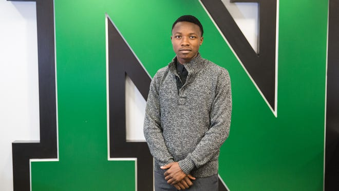 North High School graduate Robert Nishimwe was born in a refugee camp. He's attending Georgetown University this fall.