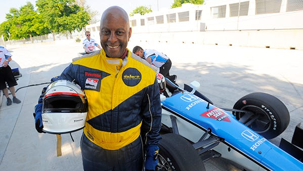 Walter Middlebrook is ready for some racing Thursday on Belle Isle.