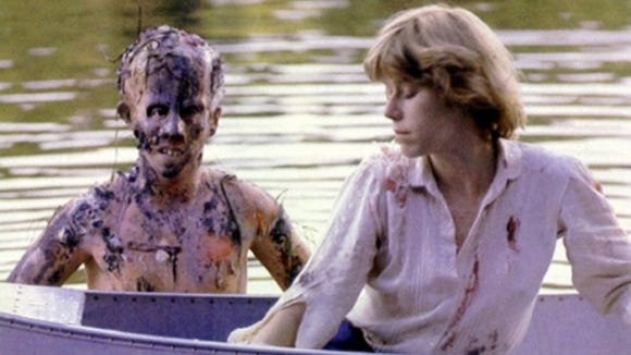 "Lehman, left, as a young and half-decomposed Jason Voorhees in the original ""Friday the 13th"" movie."