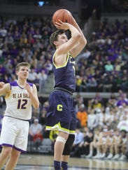 Foster Loyer dazzled in leading Clarkston to a second straight Class A state championship in March.