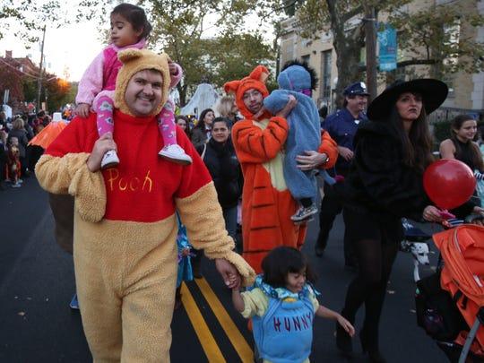 Nyack's Halloween Parade