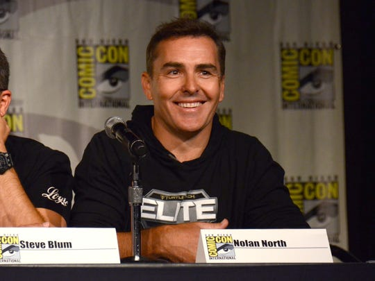 """Nolan North attends the """"Call of Duty Black Ops III: Zombie World"""" panel on day 1 of Comic-Con International on Thursday, July 9, 2015, in San Diego, Calif. (Photo by Tonya Wise/Invision/AP)"""