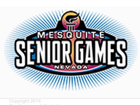 Mesquite Senior Games logo