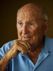 Sidney L. Harris served in the U.S. Army Air Corps as a B-17 pilot during World War II. Harris flew 31 combat missions.