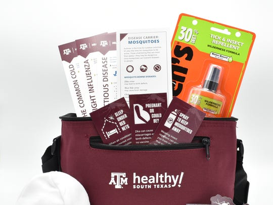 Texas A&M Healthy South Texas partnered with Driscoll Health System and Corpus Christi-Nueces County Public Health District to distribute Zika prevention kits.