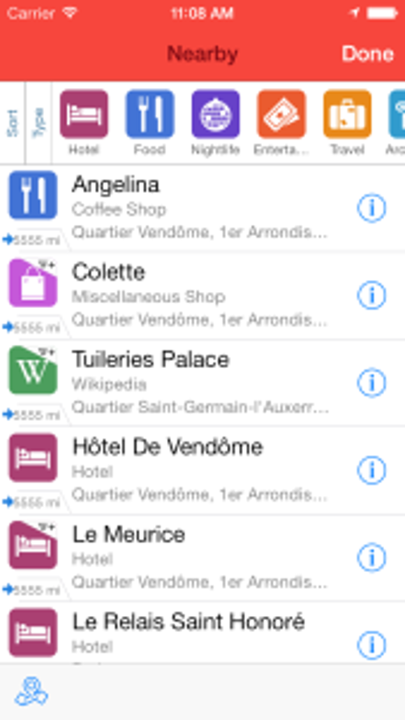 Screenshot of Ulmon App (Courtesey Ulmon)