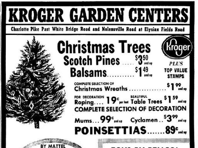 Kroger Christmas Trees