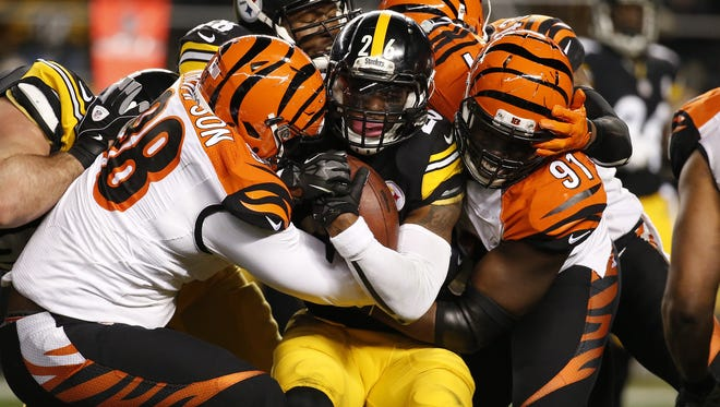Cincinnati Bengals defensive tackle Brandon Thompson (98) missed all of the 2016 season recovering from an ACL injury.