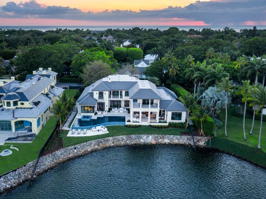 This house at 2525 Treasure Lane sold for $15.325 million