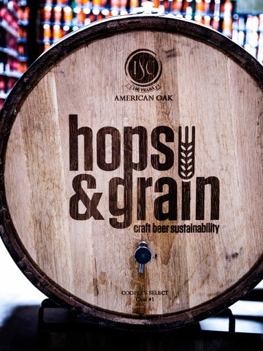 Committed to sustainable brewing practices, Hops and Grain in Austinis a satisfying feel-good, drink-good combo.