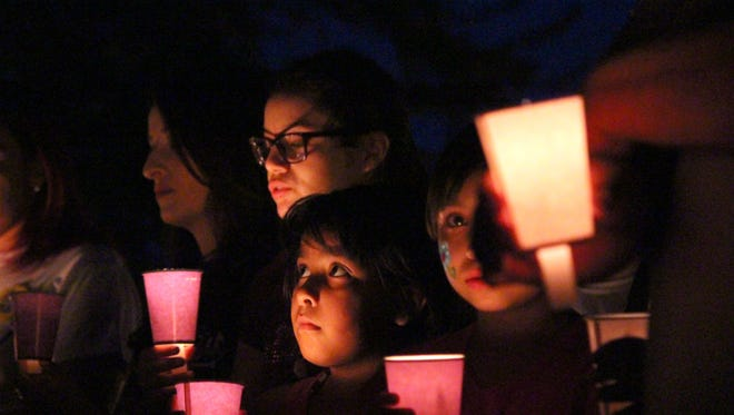 The Healing House candlelight vigil has been an emotional ceremony in year's past.