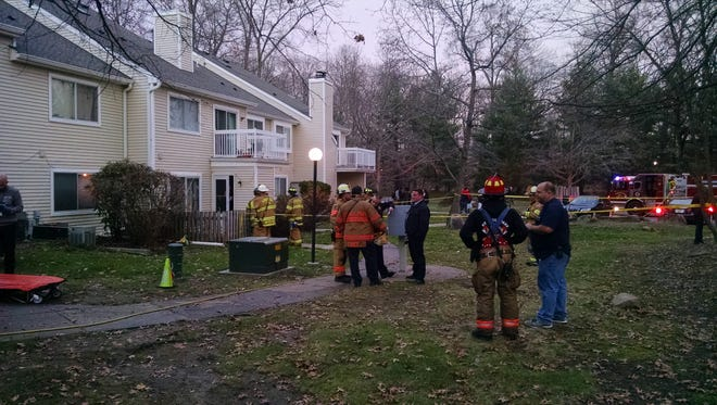 A condominium fire resulted in one fatality around 3 p.m. Friday at 27 Deerberry Lane in the Kendall Park section of South Brunswick, Kendall Park Fire Chief Chris Perez said.