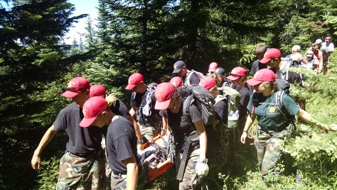 Linn County Sheriff's Office is seeking boys and girls ages 14 to 18 to join its Search and Rescue Team and participate in an 11-day summer training program.