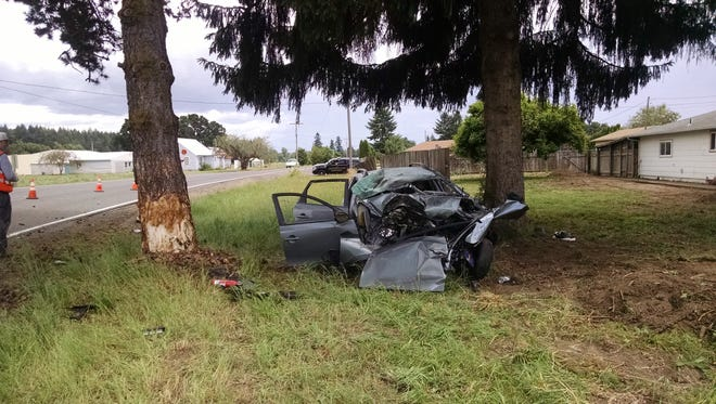 Deputies believe speed was a factor in a fatal crash that killed a Gervais teen on Friday.