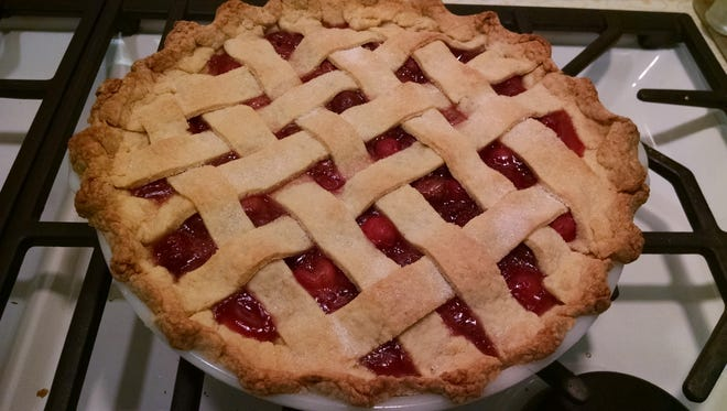 Cherry pie is a quintessential summer dish.