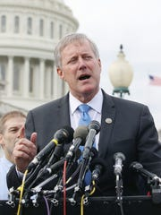 Rep. Mark Meadows speaks about the GOP health care