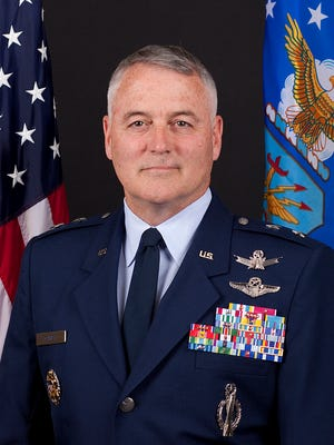 Maj. Gen. Michael J. Carey was in charge of all Air Force nuclear missiles.