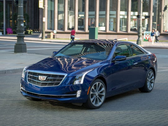 The 2015 Cadillac ATS Coupe offers rear-wheel drive or all-wheel drive, manual or automatic transmission, and a 2.0L turbocharged four-cylinder or a 3.6L six-cylinder engine.