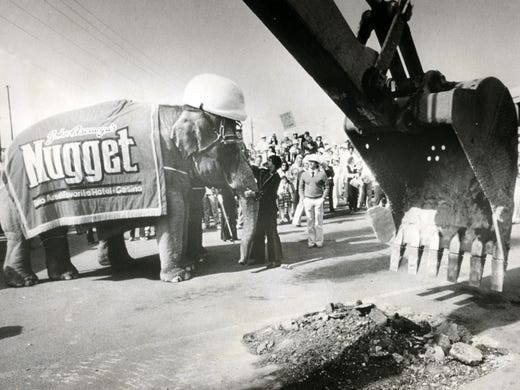 Photos: Remember when elephants ruled at the Nugget?