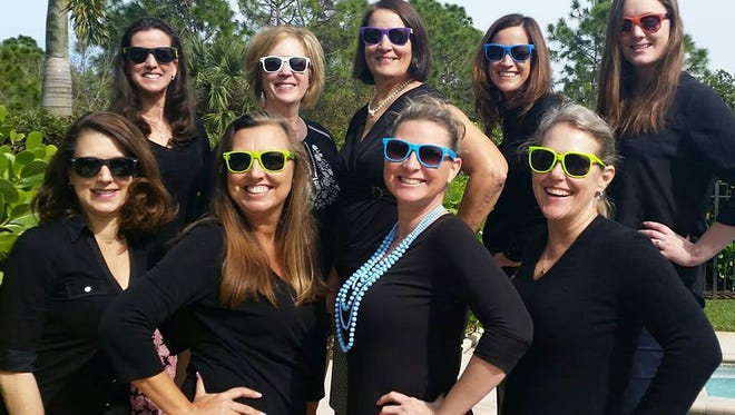 Meet the awesome Raise the Roof committee members, from left, top row: Shannon Mann, Elizabeth Monastra, Mary Zottoli, Pam Dallas and Ashley Braden-Knowles. Front row:  Andrea Von Aldenbruck, Heidi Monsour, Michelle Schwartz and Ellen Houts.