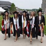 Scenes from the 2016 Marist College Undergraduate Commencement Ceremony on Saturday.