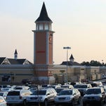 The Outlet Shoppes of the Bluegrass in Simpsonville.  July 30, 2014