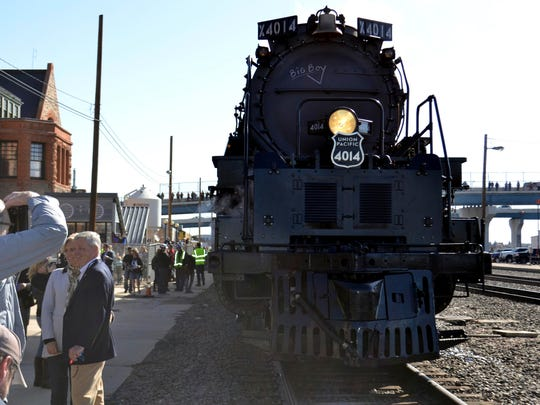 Refurbished 'Big Boy' locomotive weighs more than a Boeing 747
