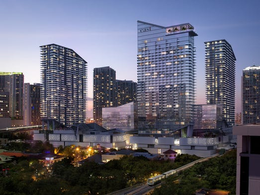 EAST, Miami will open at the Brickell City Centre in