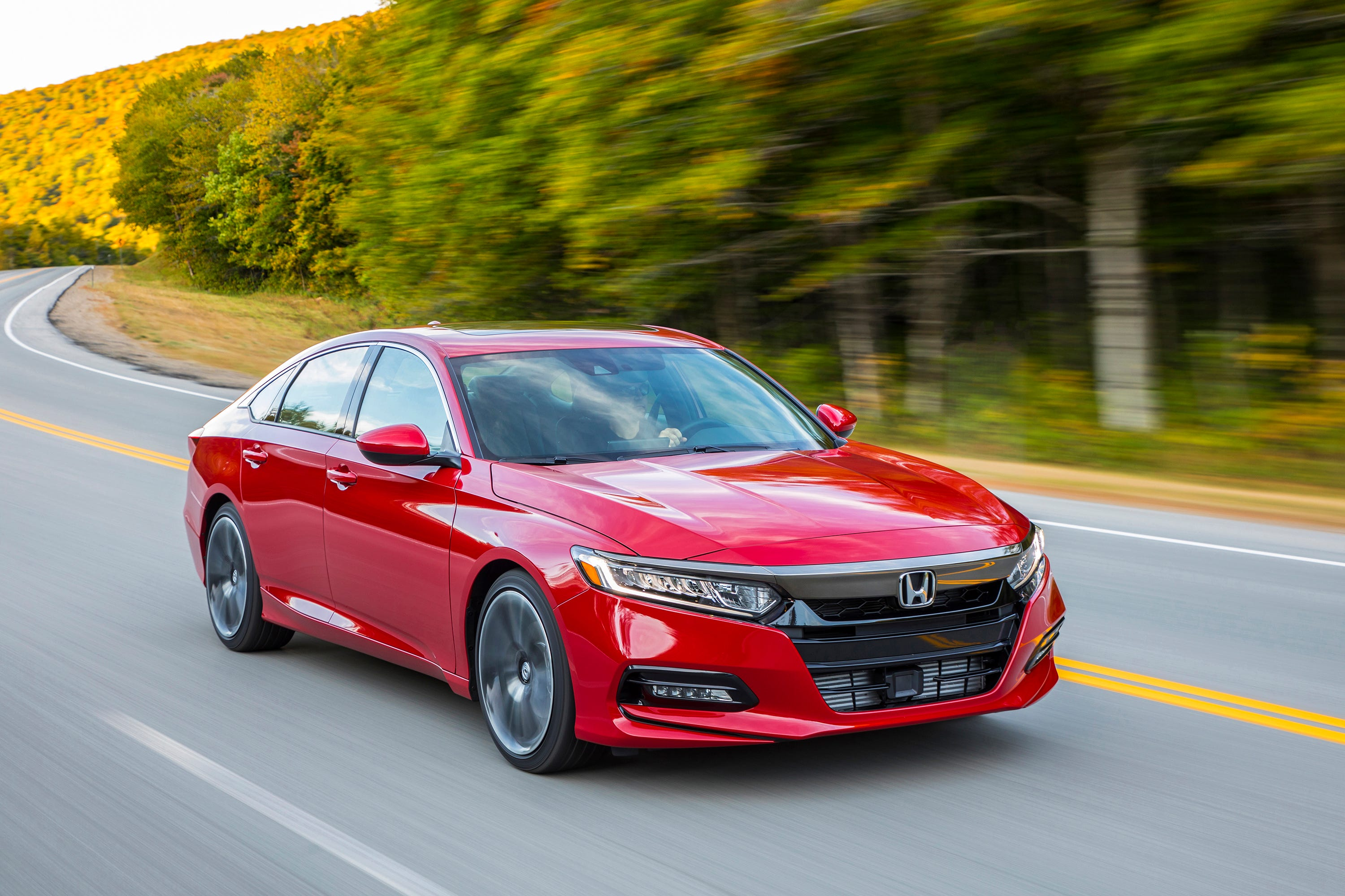 This Photo Provided By Honda Shows The 2018 Honda Accord,