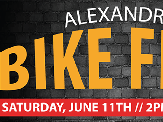 The Alexandria Bike Fest for motorcycle enthusiasts is set for June 11 in downtown Alexandria.