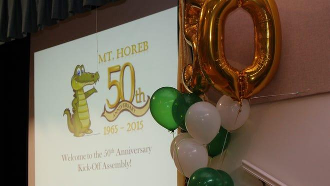 Mt Horeb celebrates its 50th anniversary.