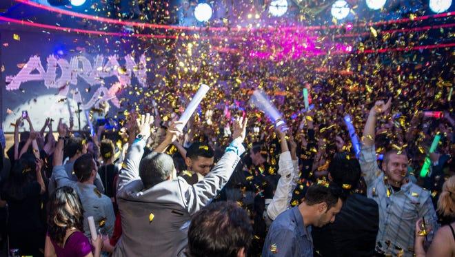 Maya Day + Nightclub threw a party for Adrian Lux on Friday, Jan. 24, 2014, in Scottsdale.