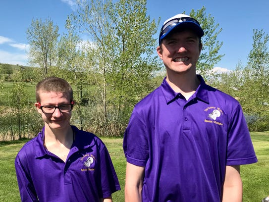 Charlie Liggett (left) and Cody Kuhlman are friends