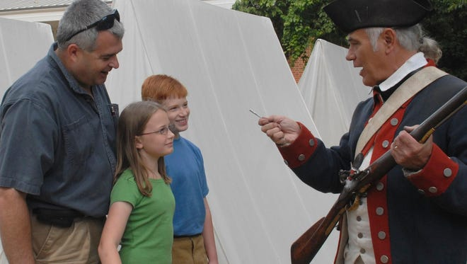 Soldiers dressed in 17th century garb are just a small part of what you will experience at the American Revolution Museum at Yorktown.