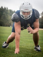 Freehold Twp. senior defensive tackle Damian Rybaltowski