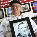 USS Arizona survivor, 96: 'The flames blew right through and cooked me right there'