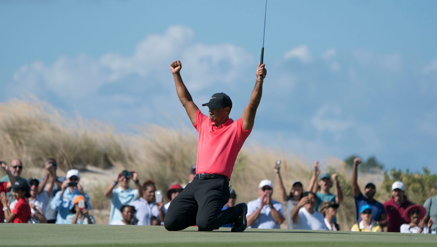 Tiger Woods has reason for optimism after finishing 8 under at Hero World Challenge