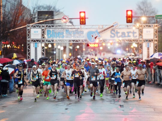 Downtown Jackson will be filled with volunteers and spectators cheering on the participants of the Mississippi Blues Marathon Saturday. All will enjoy music before, during and after the event.