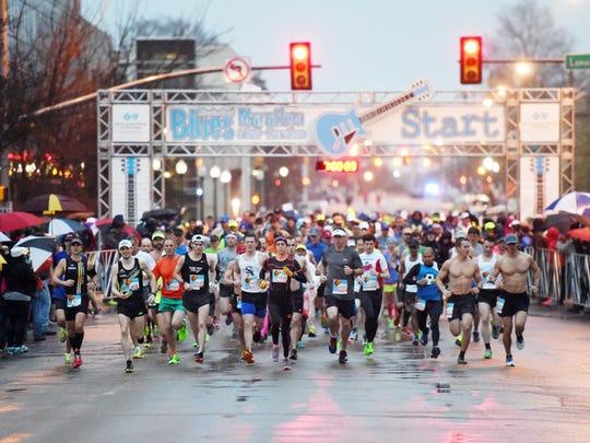 The 13th annual Mississippi Blues Marathon kicks off Saturday at 7 a.m.