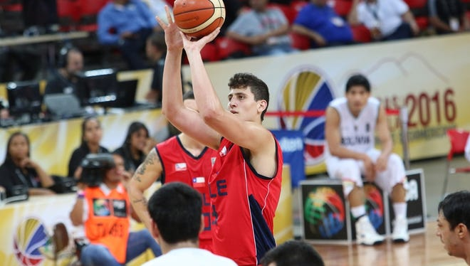 Nico Carvacho, a redshirt freshman on CSU's basketball team, averaged 11.2 points and 8.0 rebounds a game for Chile's national team in the South American championships last week.