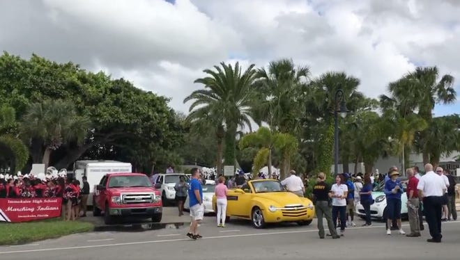 Scenes from the MLK Day parade in downtown Naples.