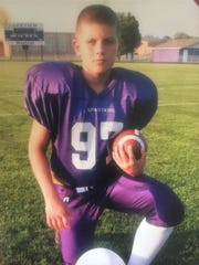 Donnie Ernsberger was always one of the biggest and fastest kids while playing pee wee football in the Lakeview Youth Association.