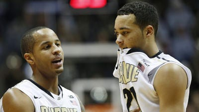 Purdue is trending up, but isn't off the NCAA tournament bubble.
