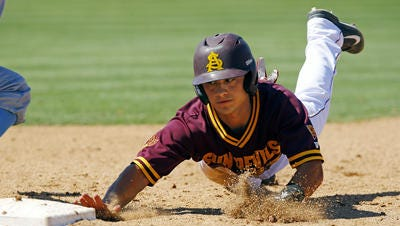 Jordan Aboites is expected to start at third base and pitch for ASU baseball in his senior season.
