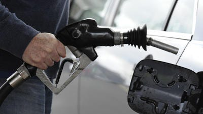 Gasbuddy.com ranked communities by the biggest differences between their low and high gas prices.