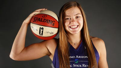 Former ASU forward Sophie Brunner made the Phoenix Mercury season-opening roster as an undrafted free agent.