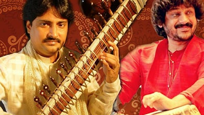 Indrajit Banerjee commands a clear, fluid sweetness in his sitar playing, combined with technical virtuosity and sensitivity.