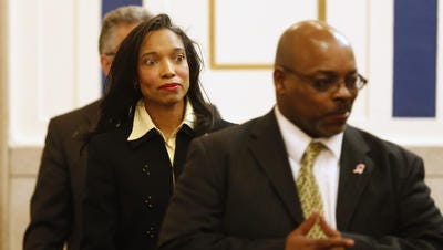 Indicted and suspended Judge Tracie Hunter wants criminal charges against her dismissed, saying special prosecutors Merlyn Shiverdecker and R. Scott Croswell III have close ties to County Prosecutor Joe Deters.